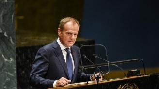 Европейският съвет одобри промяната в споразумението за оттеглянето на Великобритания
