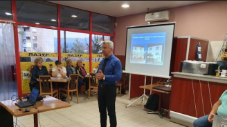 Сред приоритетите на Николай Зайчев е обновяването на два от големите квартали на Пещера