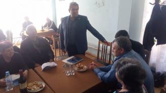 Пенсионерите в Радомир:  Подкрепяме твърдо Пламен Алексиев