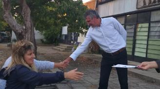 Кандидатът на ГЕРБ за кмет на Сопот Георги Григоров се срещна с жителите на северозападния квартал в града