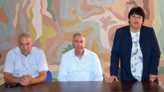 Кандидатът за кмет на Община Видин от ПП ГЕРБ Огнян Ценков се срещна с членове на Съюза на българските учители