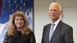 Илияна Йотова разговаря с ръководителите на Съвета на Европа и на неговата Парламентарна асамблея