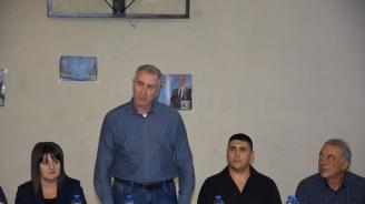Огнян Ценков и кандидати за общински съветници от ГЕРБ-Видин подкрепиха кандидатурата на Тихомир Цветанов за кмет на с. Кутово