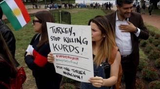Около 10 000 протестираха в Кьолн срещу турската офанзива в Северна Сирия