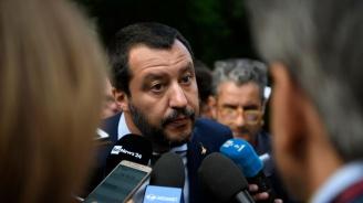 Матео Салвини оглави голям антиправителствен протест в Рим