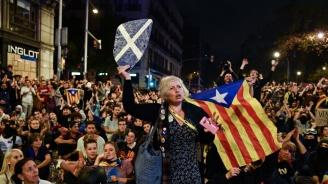 Отново протест в Барселона