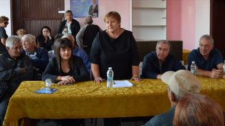 Кандидатът за кмет на Община Видин от ПП ГЕРБ Огнян Ценков подкрепи кандидатурата на Красимира Стефанова за кмет на кметство Бела Рада