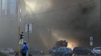 Пожарът, пламнал в столичното заведение, тръгнал от запалена камина?