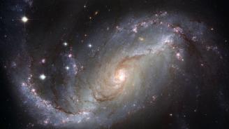 НАСА показа впечатляваща снимка на спирална галактика