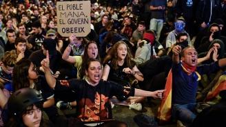 МВнР: Тази вечер отново е свикана демонстрация в Барселона