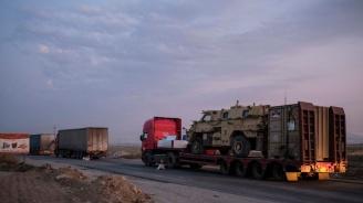 Американските сили са се изтеглили днес от най-голямата си база в Северна Сирия