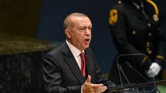 Ердоган: Подновяваме операция в Сирия, ако изтеглянето на кюрдите не завърши до 5 дни