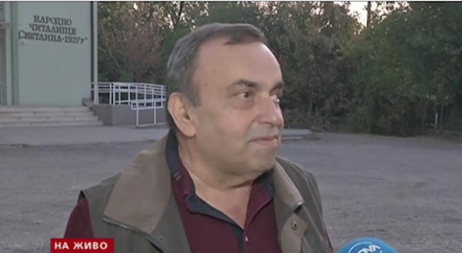 В сутрешния блок на Нова телевизия кметът на ловешкото село