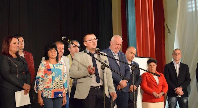 Над 150 жители на село Зверино се включиха в предизборна