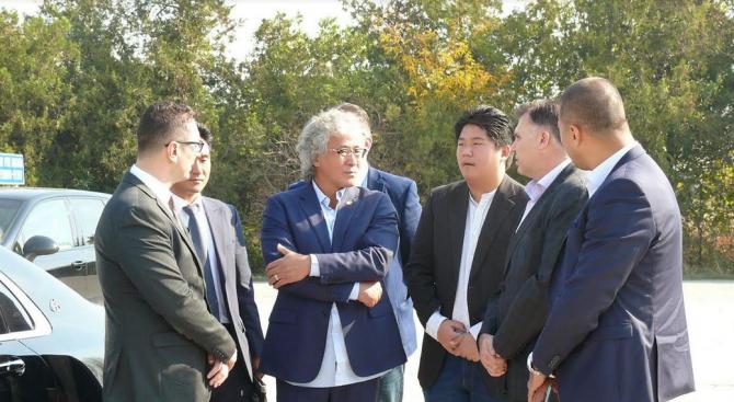Мирослав Петров, кандидат на ГЕРБ за кмет на Плевен, посрещна