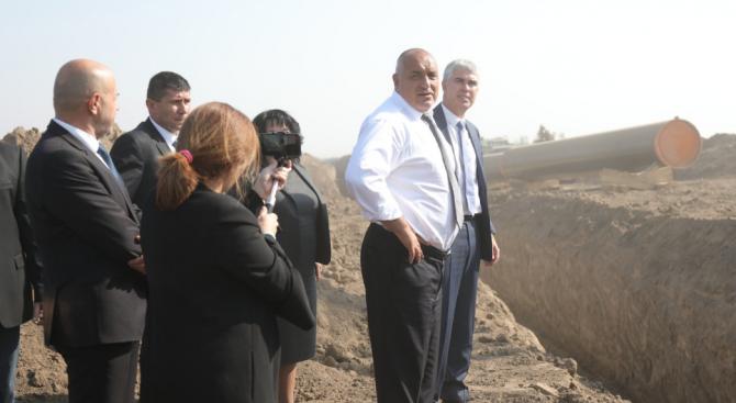 Борисов: Правим магистрали, жп линии, газопроводи - грандиозен строеж