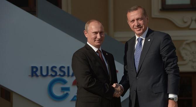 Путин и Ердоган ще обсъдят утре турската операция в Сирия