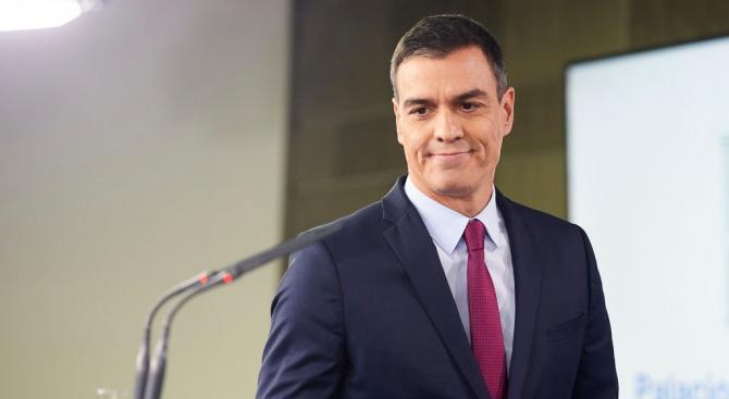 И.д. министър-председател на Испания Педро Санчес посети днес Барселона след