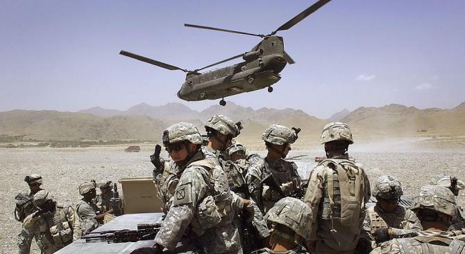 Съединените щати са намалили контингента си в Афганистан с 2000