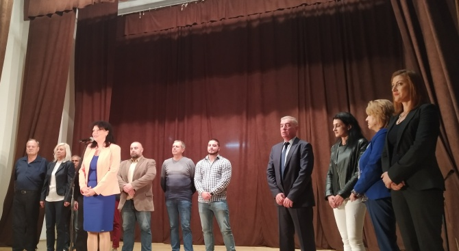 Кандидатът за кмет на община Созопол от ГЕРБ Красимира Германова