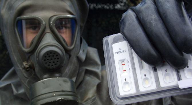 Експертите от Организацията за забрана на химическите оръжия проверяват достоверността