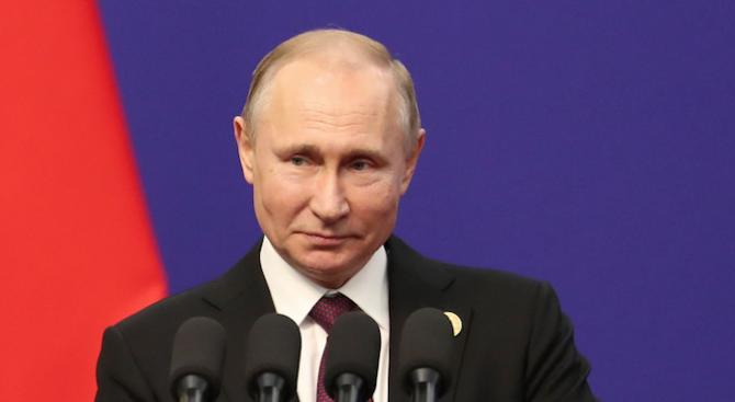 Руският президент Владимир Путин проведе телефонен разговор със сирийския си