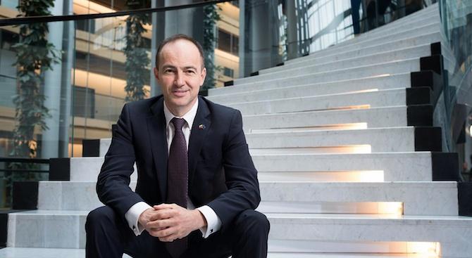 Заместник-председателят на Групата на ЕНП в Европейския парламент д-р Андрей