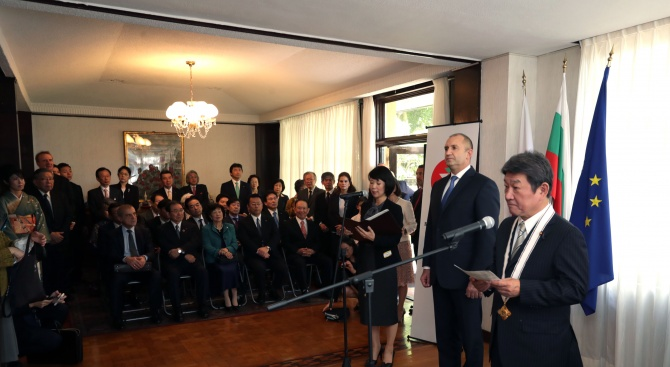 България цени високо отношенията си с Япония, както и своите
