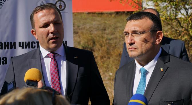Вътрешните министри на България и Северна Македония Младен Маринов и