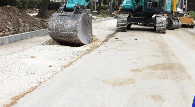 Започна ремонтът на 1,3 км от третокласния път III-5006 Габрово
