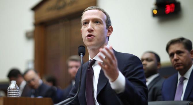 """Главният изпълнителен директор на """"Фейсбук"""" Марк Зукърбърг призна вчера, че"""
