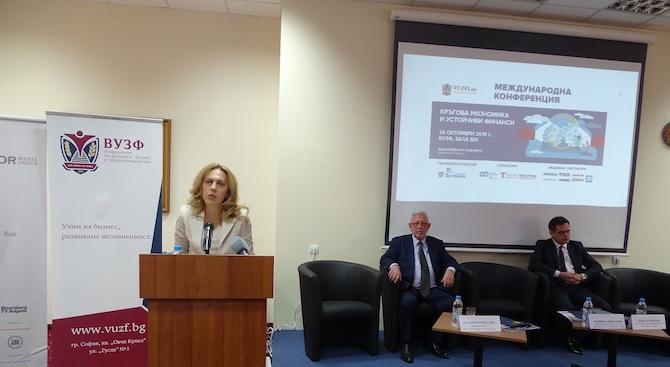 Вицепремиерът Николова: Правителството се фокусира върху иновациите за постигане на устойчив растеж и конкурентоспособност