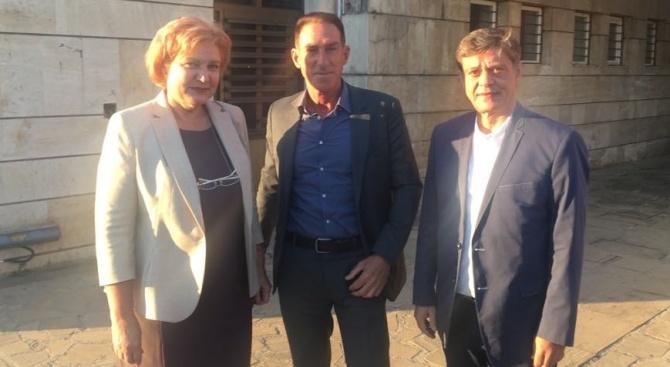 Кандидатът на ГЕРБ за кмет на Кричим Атанас Бъбаров се