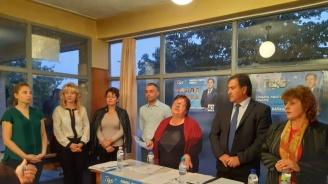 Kандидатът на ГЕРБ за кмет на Съединение Атанас Балкански проведе предизборна среща в село Драгомир