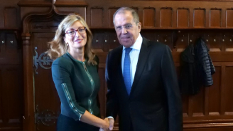 Екатерина Захариева и Сергей Лавров обсъдиха възможности за активизиране на икономическото сътрудничеството между България и Русия