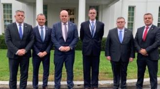 Сотир Цацаров и Иван Гешев се срещнаха със съветник на президента Тръмп в Белия дом