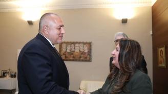 Премиерът Борисов се срещна с новия посланик на САЩ Херо Мустафа