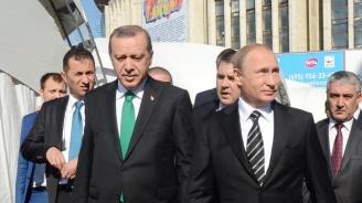 Владимир Путин към Реджеп Ердоган: Ситуацията в Сирия е сложна