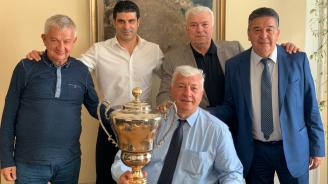 Купата за шампионската титла на Локо Пловдив се завърна у дома след 15 години