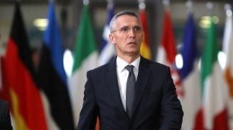 НАТО не обсъжда искане за намеса в Сирия