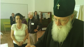 Патриарх Неофит упражни правото си на глас в местните избори