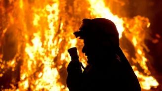 Човешка небрежност по време на пикник запали пожар край Казанлък