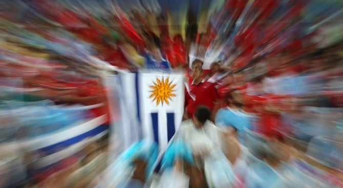 Кандидатът на левицата Даниел Мартинес води на президентските избори в