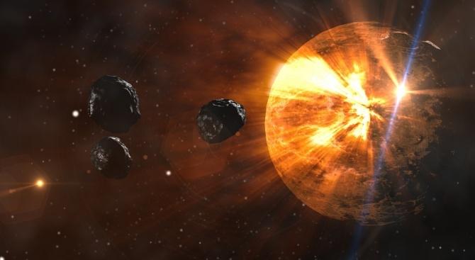Изненадващо кръгъл астероид може да е най-малката планета-джудже в Слънчевата система