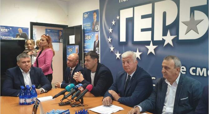Здравко Димитров: ГЕРБ е първа политическа сила след първия тур на местните избори в Пловдив