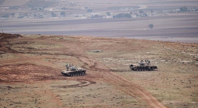 Сирийски войници влязоха в сблъсъци с турските сили край Рас ал Айн