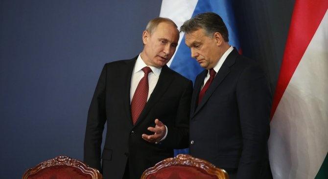 "Путин в Будапеща: Русия би приветствала присъединяване на Унгария към ""Турски поток"""