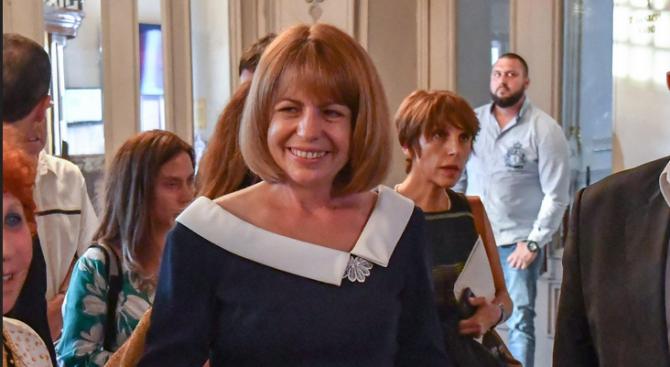 Кандидатът за кмет на София от ГЕРБ/СДС/ Йорданка Фандъкова ще