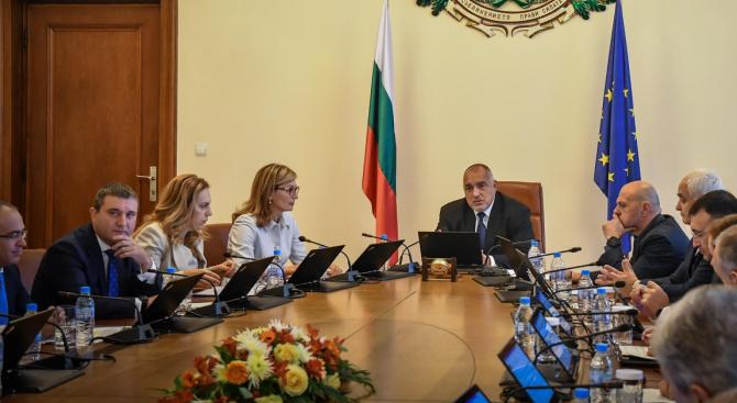 Министерският съвет одобри законопроекта за държавния бюджет на Република България
