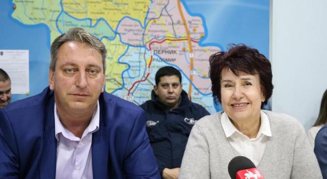 """Местна коалиция """"Български демократичен център"""" подкрепи кандидатурата на Вяра Церовска"""